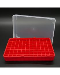 polypropylen box for 96 vials 1 ml + 2 ml (without vials)