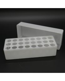 polypropylen box for 24 vials 4 ml wide (without vials)